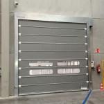 Puerta Foldsystem Gris MS Metalsystem Acero Galvanizado