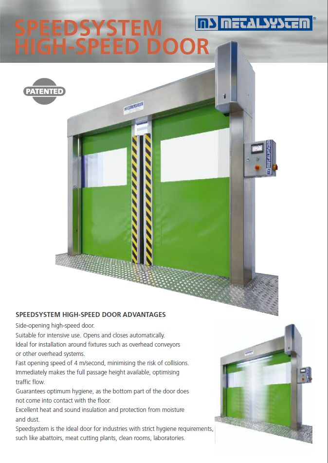 Speedsystem high speed door