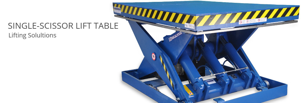 MS METALSYSTEM SL – Single-scissor lift table