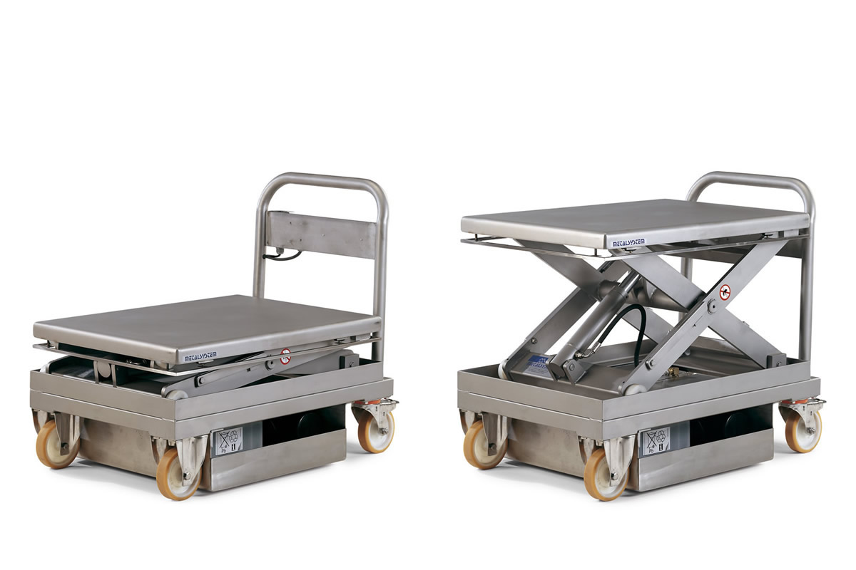 Ms Metalsystem Sl Lift Tables Accessories And Options
