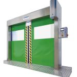 Puerta rápida Speedsystem. Feria BTA 2015.