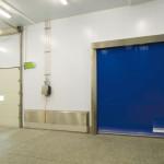Puertas rápidas Quicksystem inoxidable, para separar salas